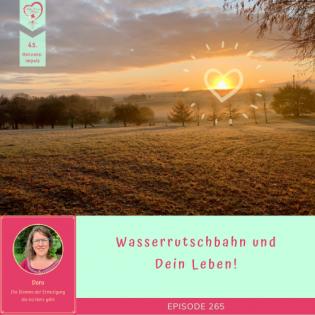 265 - Wasserrutschbahn und Dein Leben! | 45. Herzensimpuls für Dich