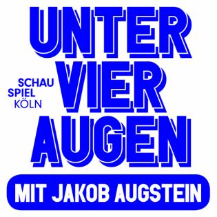 Jakob Augstein trifft Milo Rau
