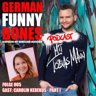 German Funny Bones: Carolin Kebekus 1-2