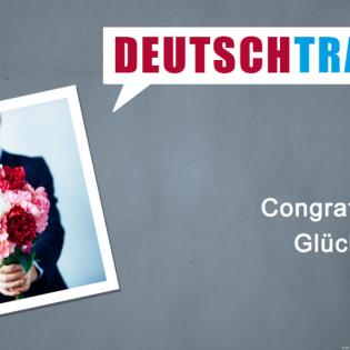 Deutschtrainer – 96 Glückwunsch!