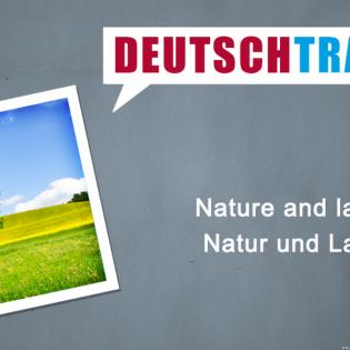 Deutschtrainer – 87 Natur und Landschaft
