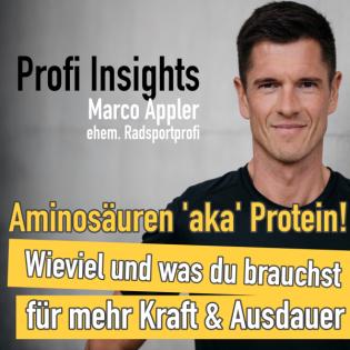 #18 Aminosäuren aka Protein - Wieviel und was du brauchst für mehr Kraft und Ausdauer