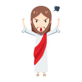 Der wütende Jesus