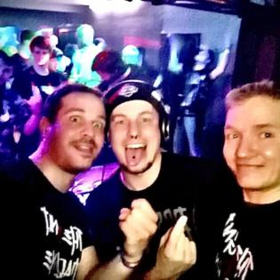 DJ Sacrifice vs Gnat & Mad_Line @ 4 Jahre Hell Kartell 08.02.2020 Glashaus Worbis