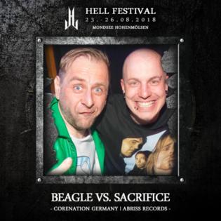 Beagle vs. DJ Sacrifice @ Hell Festival 2018