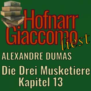 """Die drei Musketiere """"13 Herr Bonacieux"""" (von Alexandre Dumas)"""