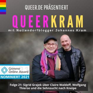 Sigrid Grajek über Claire Waldoff, Wolfgang Thierse und die Sehnsucht nach Kneipe