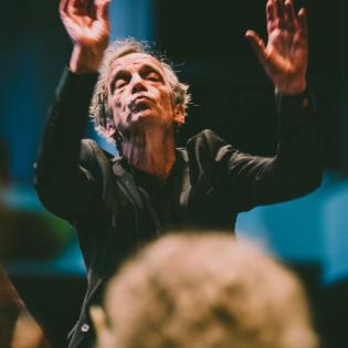 Der Cembalist und Dirigent Lars Ulrik Mortensen