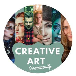 CreativeArtCommunity: Der Beginn