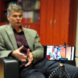Es geht immer um die Menschen - ein Weihnachtsgespräch mit Oliver Hochkofler