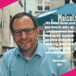 #3 Auf ein Bier im Ratskeller mit Felix Haltt