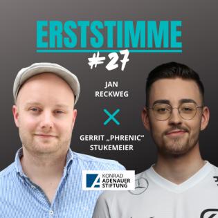 """Erststimme #27:  Gerrit """"Phrenic"""" Stukemeier"""