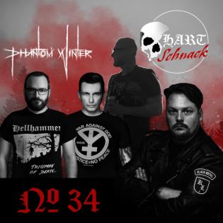 Hartschnack - Podcast #34: Phantom Winter - Bandgeschichte, ihre Musik und der Umgang mit der Szene