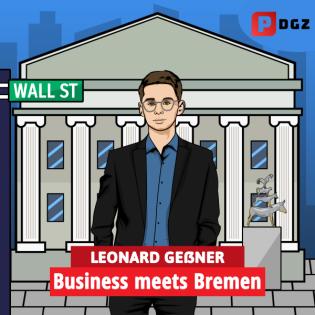"""Mit 17 gegründet! - Jens Quader bei """"Business meets Bremen"""""""