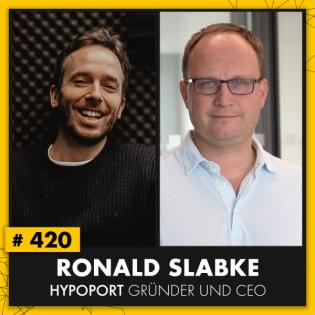 OMR #420 mit Ronald Slabke, Fintech-Milliardär, Hypoport-Gründer und CEO