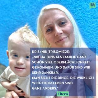 """""""Mein Kind hat das Down-Syndrom"""" – eine Mutter erzählt über ihren Familienalltag"""