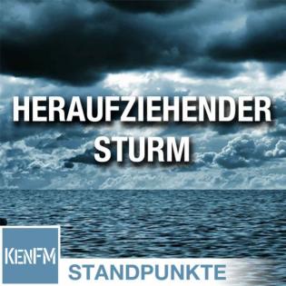Der heraufziehende Sturm   Von C. J. Hopkins