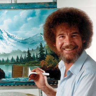 """Doku über Kult-Maler Bob Ross: """"Keine Fehler, nur glückliche kleine Unfälle"""""""