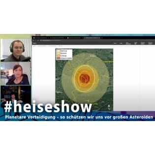 Planetare Verteidigung – so schützen wir uns vor großen Asteroiden | #heiseshow
