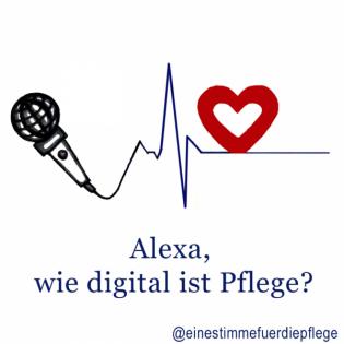 Alexa, wie digital ist Pflege?