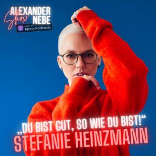 """Stefanie Heinzmann: """"Du bist gut, so wie du bist!"""""""