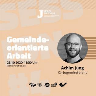 Gemeindeorientierte Arbeit - Achim Jung