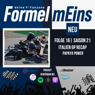 Papaya Power - Italien GP Recap - Folge 16|S21