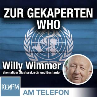 Am Telefon zur gekaperten WHO: Willy Wimmer
