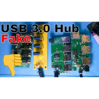 BitBastelei #445 - Fake-USB3.0 Hubs