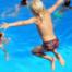 Platsch! Wasserspaß bei Mikado