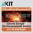 Clevere Energie - Die Energiewende daheim (KIT im Rathaus): Grußworte