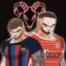 Tone & Anton auf dem roten Teppich mit FCB Stars, EL Clasico und Man Uniteds Debakel...