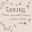 (59) Johann Wolfgang von Goethe »Gretchens Stube« aus »Faust - Der Tragödie erster Teil«