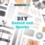 DIY | Bunte Drachen selber bauen - Zwei Leisten machen einen Drachen