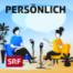 Die Autorin und der TV-Koch: Shqipe Sylejmani und René Schudel