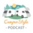 Fahrradtransport am Campingfahrzeug