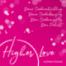Osterpause bei Higher Love - ich bin am 12.04. zurück