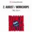DHNB - Tag 3 & 4 - 2. August / Workshops