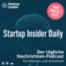 Startup Insider Daily • Flink • Clubhouse • Jeff Bezos • Kryptowährungen • Bytedance • Facebook • airfocus